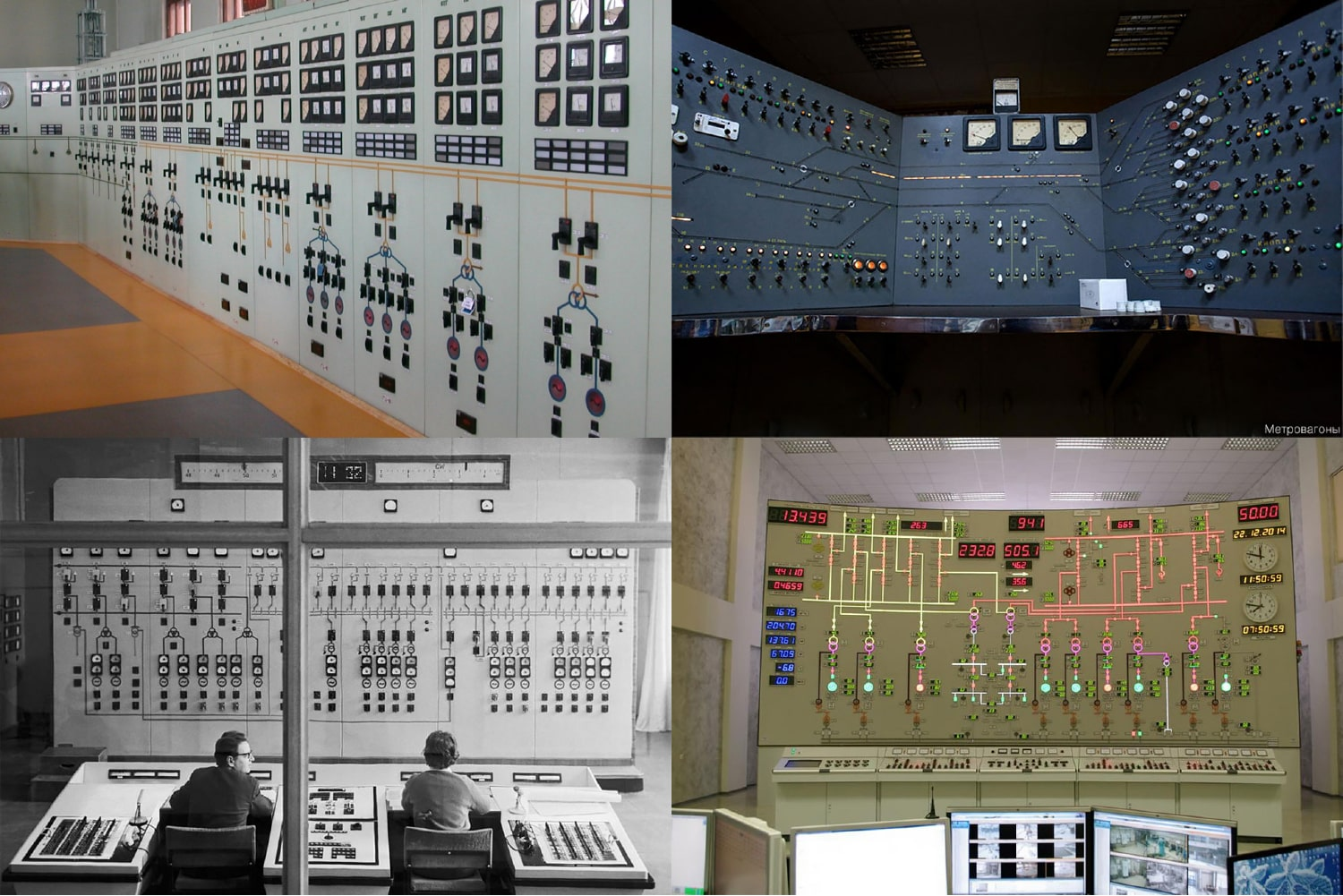 Soviet control panels in action. Source: Present and Correct